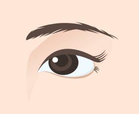 한층 젊어진 눈매