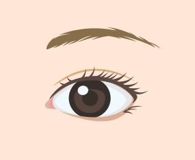 청순한 눈매 완성